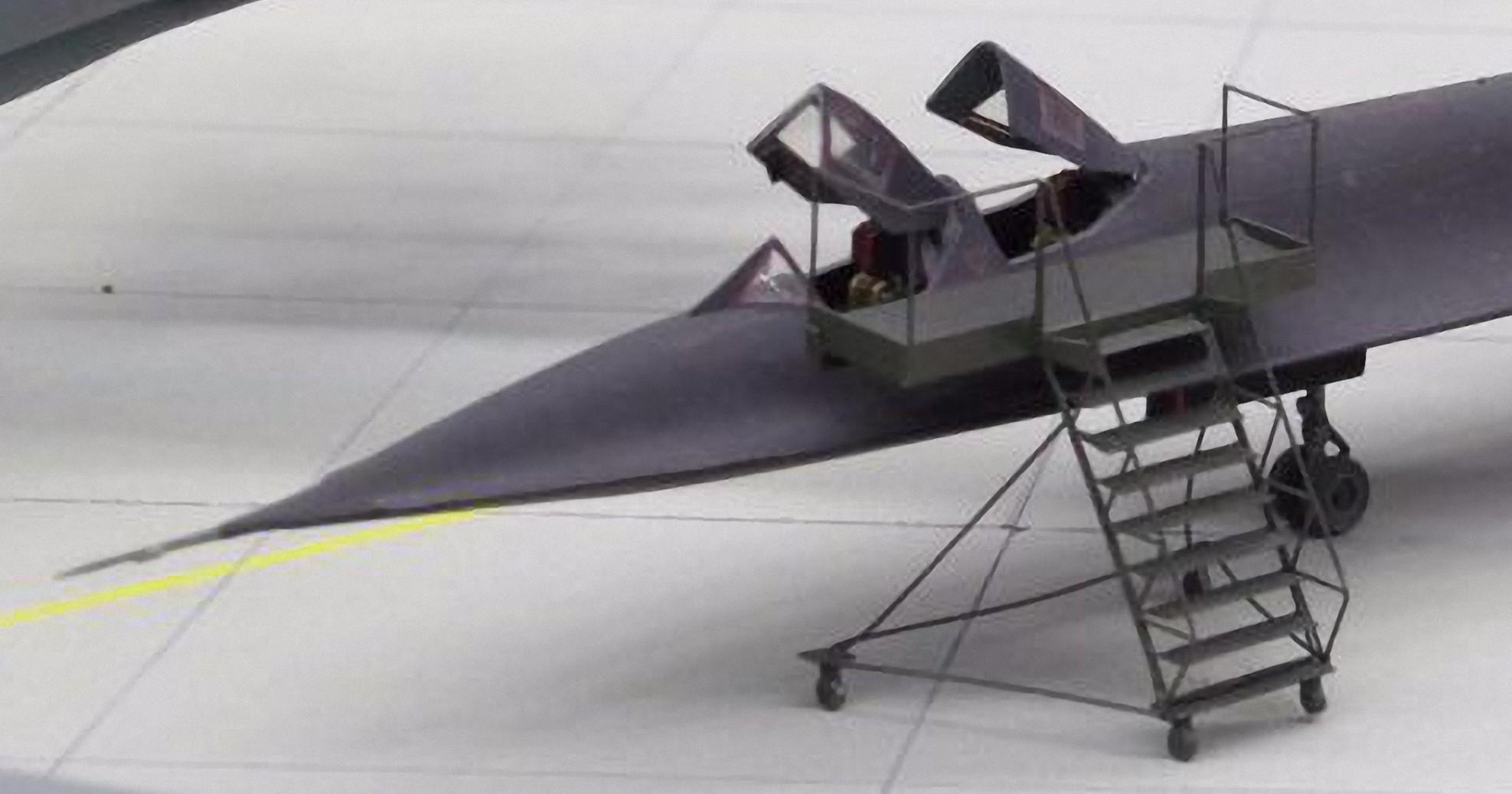 USAF SR-71 Steps