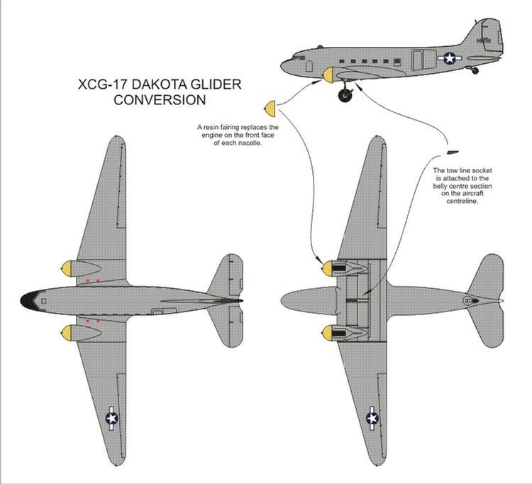 XCG-17 Glider Conversion Set